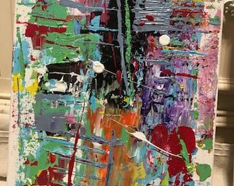 "Original Acrylic on Canvas 8""x10"""