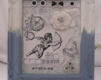 Picture shabby vintage deco wedding gift birthday Gift