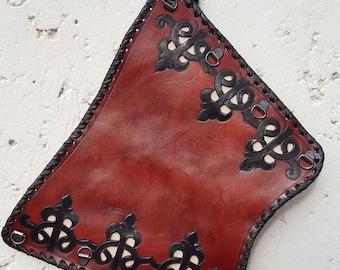 Bracers Archers 2. Pierced or braided genuine leather
