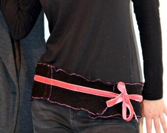 black belt in wool