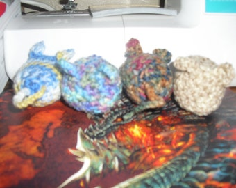 Hand Crocheted Catnip Mice