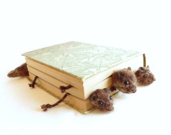 Roadkill Squirrel Bookmark - Vegan Roadkill - Brown Squirrel - Made to Order