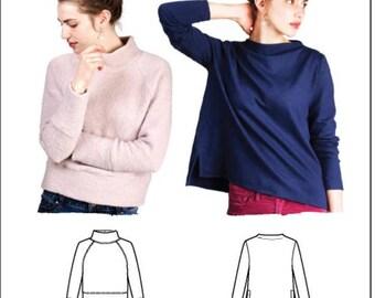 Toaster Sweater Sweatshirt Paper Pattern