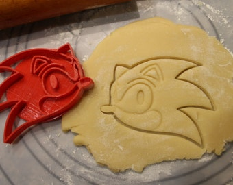 Sonic Hedgehog Cookie Cutter , Great Stocking Stuffer , Stocking Stuffers