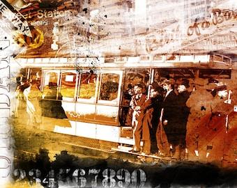 Colorful Wall Art, Digital Art, Printable Poster, Digital Download, Printable Photography, Printable Art,  Photographic Collage, Urban