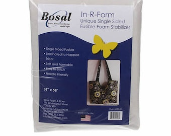 In-R-Form Single Sided Fusible Stabilizer Whtie 58in x 36in
