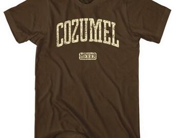 Cozumel Mexico T-shirt - Men and Unisex - XS S M L XL 2x 3x 4x - Cozumel Shirt - 4 Colors