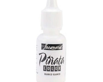 Pinata Color alcohol ink by Jacquard, .5oz bottle, Blanco