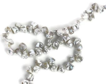 Silver Petal Pearls