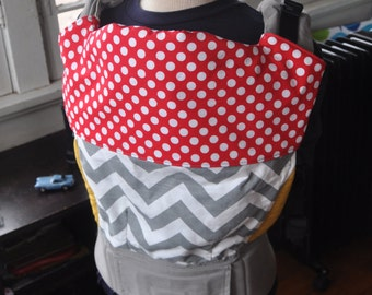 Custom Tula Topper, Tula Bib, Drool and Chewing Protection for your Tula