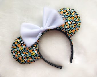 Floral Ears | Spring Ears | Disney Ears | Mickey Ears | Minnie Ears