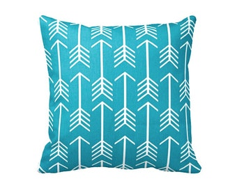 6 Sizes Available: Teal Decorative Throw Pillow Cover Teal Pillow Accent Pillow 12x16 18x18 20x20 22x22 24x24 Inches