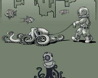Octopus Deep Sea Diver