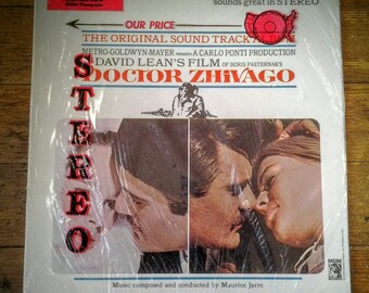 1966 Doctor Zhivago Original Soundtrack Vinyl Record Album S1E-6ST, Maurice Jarre. NM Sleeve, NM Media. MGM Records.