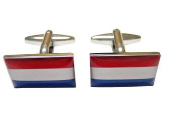 Netherland Flag Cufflinks