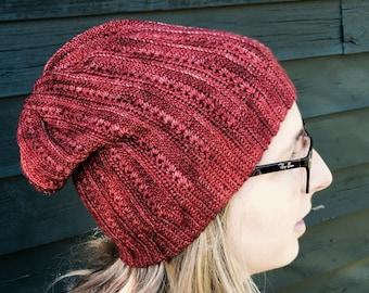 Stargaze Beanie crochet pattern - English, Swedish or German