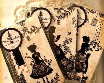 Set of 3 Mini notebooks - Miss Shadow