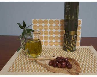 Kritsa Greek Extra Virgin Olive Oil Cold Extraction 1.5lt Gold Winner Quality Award From Crete Island