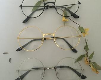 Round Frame Circle Glasses