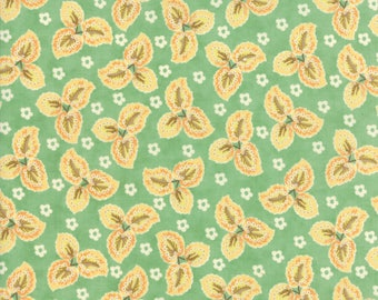 Hazel and Plum - Autumn Leaves in Pond: sku 20292-15 cotton quilting fabric by Fig Tree and Co. for Moda Fabrics