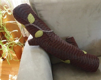 Long Branch twisted vine tree pillow