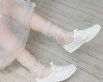 Sparkling Fairy Dust Tulle Socks