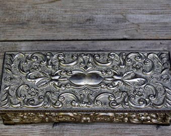 Godinger Antique Silver Jewelry Box