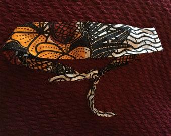 Printed Fabric Headband Hairband Adjustable
