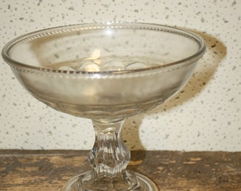 Vintage Glass Compote