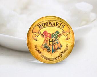 Handmade Round Harry Potter Photo glass Cabochons (P2749)