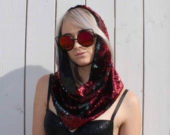 Crimson Rave Hood