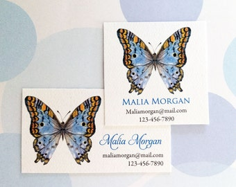 Personalized Business Cards, Custom Business Cards, Butterfly Cards