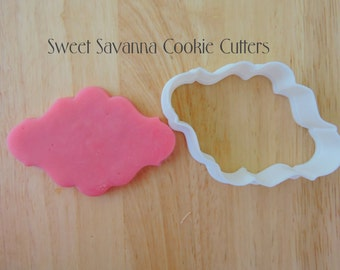 Plaque Cookie Cutter No 12