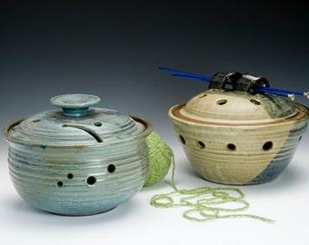 Lidded Yarn Bowl