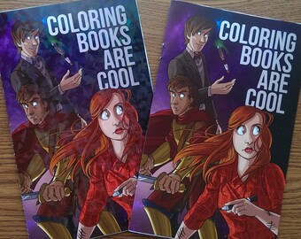 Doctor Who Coloring Book