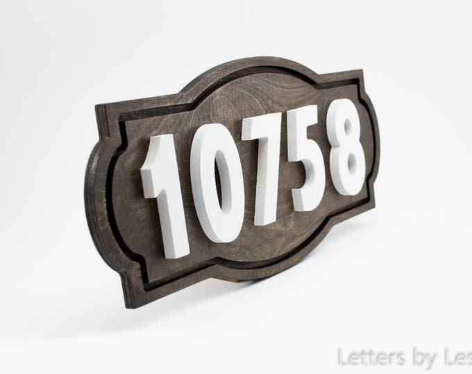 House Number Sign, House Number Plaque, Address sign. Wooden Address Sign, House number, Address plaque, Address numbers, Wood sign, signage