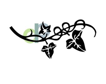 Ivy Vine-SVG file for cutting
