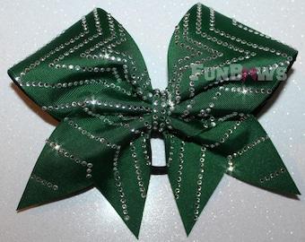 Awesome Rhinestone Star Allstar Cheer Bow by FunBows !