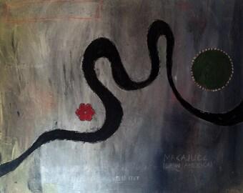 SNAKE Oil Painting