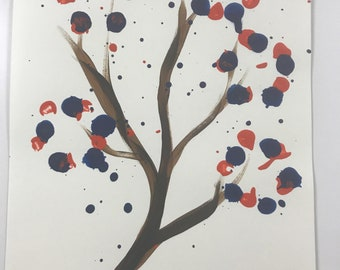 Red Blue Tree WESH