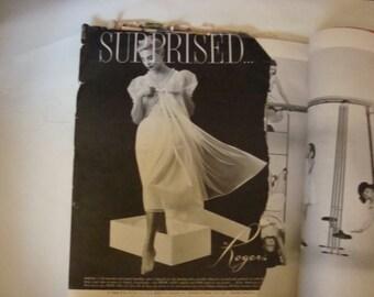 1950's Vouge magazine
