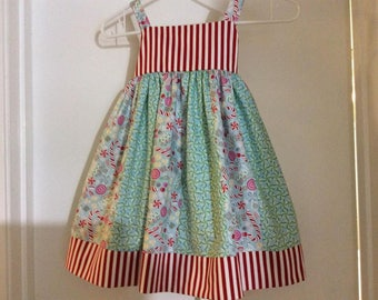 Candycane Christmas Dress