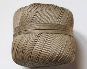 Nice spool thread linen vintage Made in France