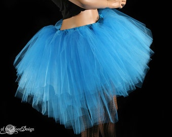 Ultra Turquoise Ring Master tutu skirt huge poofy adult wedding bridal costume dance ballet rave -- You Choose Size -- Sisters of the Moon
