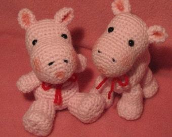 Witty Bitty Hippo Twins
