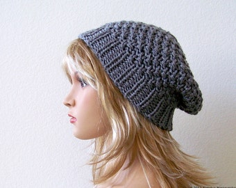 Womens Slouchy Beanie Hat Knit Slouchy Hat Knit Hat Womens Slouch Beanie Mens Slouchy Beanie Mens Slouchy Hat Mens Slouch Beanie Womens Hats