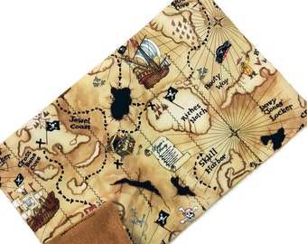 Senior pirate treasure map sensory toy, large marble maze game, boy men adult child, autism alzheimer dementia, fidget travel quiet activity