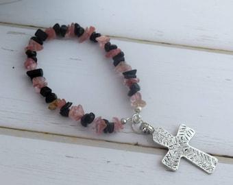 Gift-For-Girlfriend, Prayer Beads For Meditation, Gift-For-Women, Prayer Meditation Beads, Small Cross Gift, Confirmation Gift, Gift-For-Her