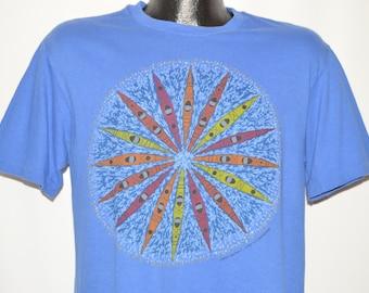 90s Kayak Kaleidoscope Design t-shirt Large