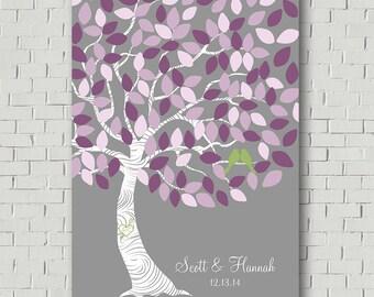 Wedding Tree Guest Book - Wedding Guestbook Sign - Unique Guestbook Ideas - Alternative Wedding Guestbook - Signature Tree Guestbook